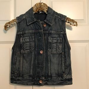 Express Denim Vest